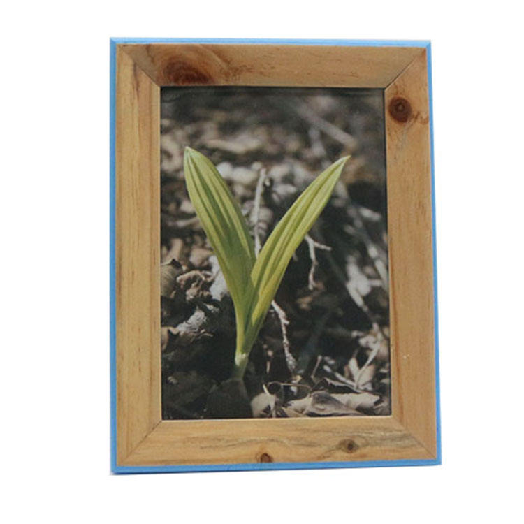 wooden photo frame pine wood