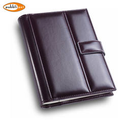 Extractable Book Block, imitation leather Diary with magnet