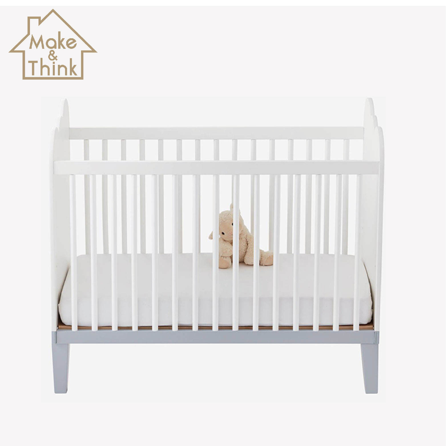 Multifunction solid wooden small newborn playpen cot baby cribs bed designs