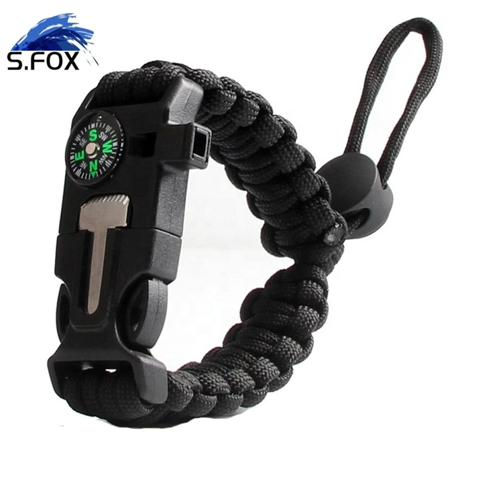 Outdoor Equipment Adjustable Bracelet Hiking Camping Outdoor Paracord Survival Tactical Paracord Bracelet