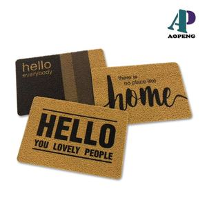 Customized Printed Welcome Door Mat