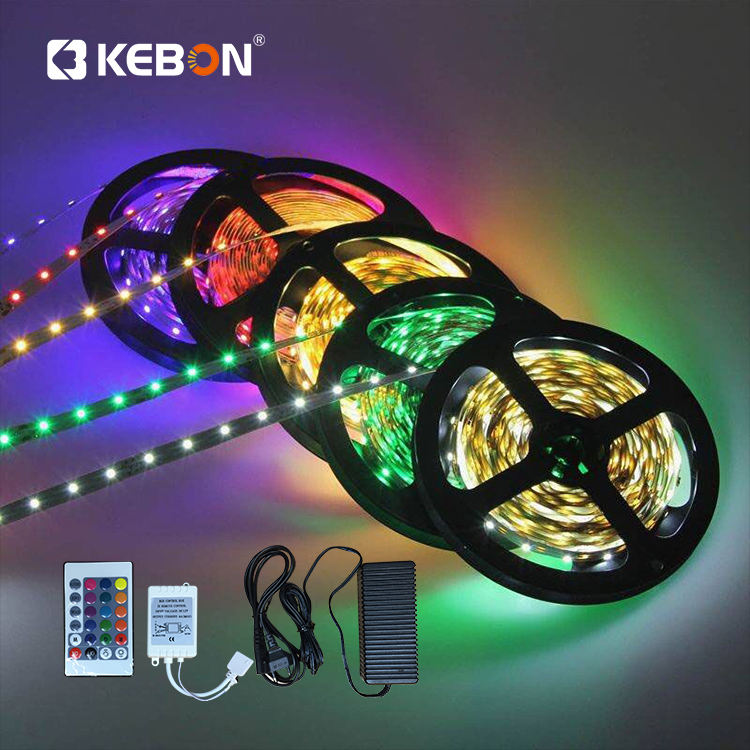 Outdoor decoration home 12 V A suit of accessories adapter controller smd5050 IP65 RGB led light strip