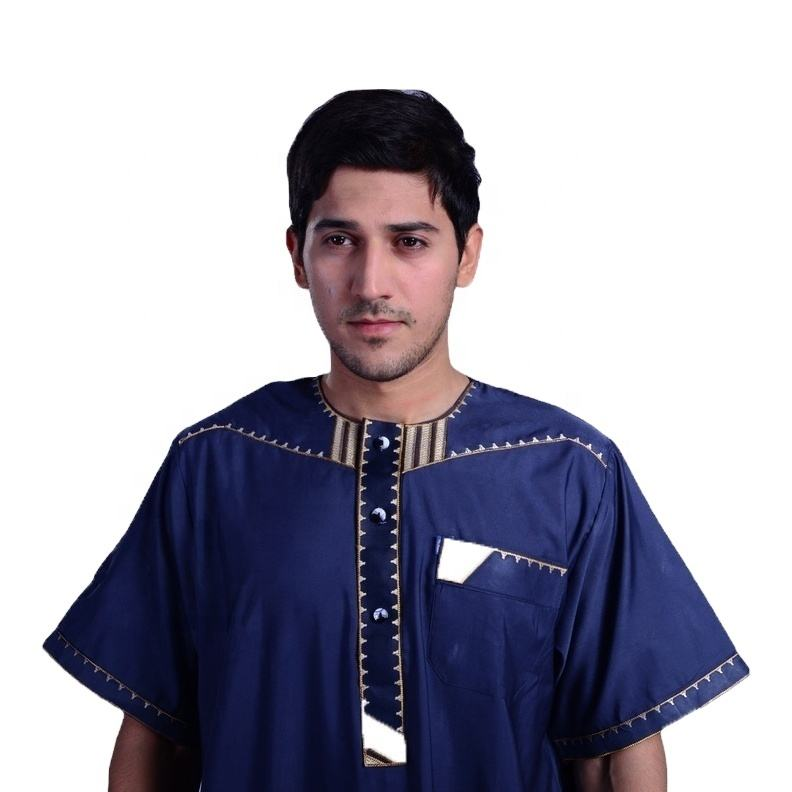 Muslim Dress For Men Jalabiya Dubai Kaftan