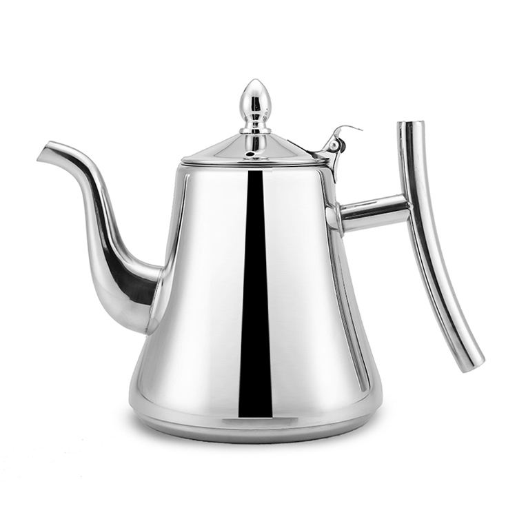 Stainless Steel Teapot Coffee Pot Water Kettle With Filter
