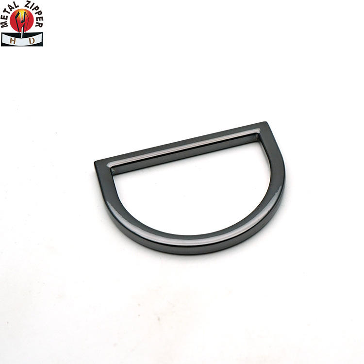 Factory high quality d ring buckle metal hardware accessories d-ring welded for bag strap