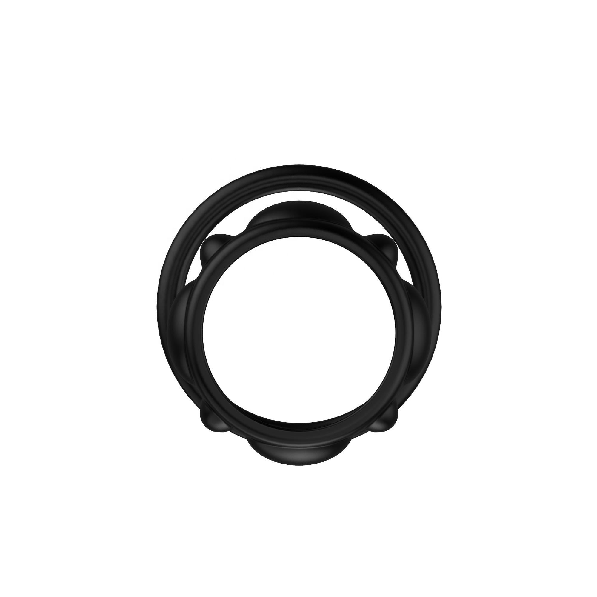 Factory Silicone Male Cock Penis Ring Rubber Men Ejaculation Men Fully Adjustable G Spot <span class=keywords><strong>DIY</strong></span> <span class=keywords><strong>Sex</strong></span> Toys Delay Penis Ring Dildo