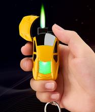 KL-A04 Car gas lighter  personality windproof lighter creative hot selling lighters
