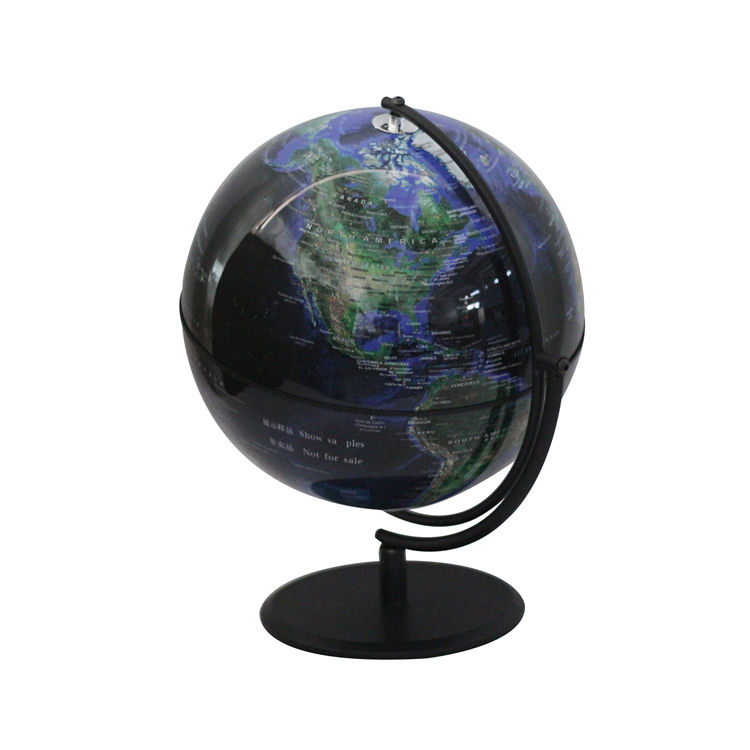 Globe Factory Direct Sale Custom World Plastic Globe With Metal Stand