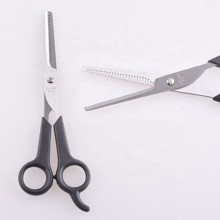 Wholesale engraved barber scissors with serrated