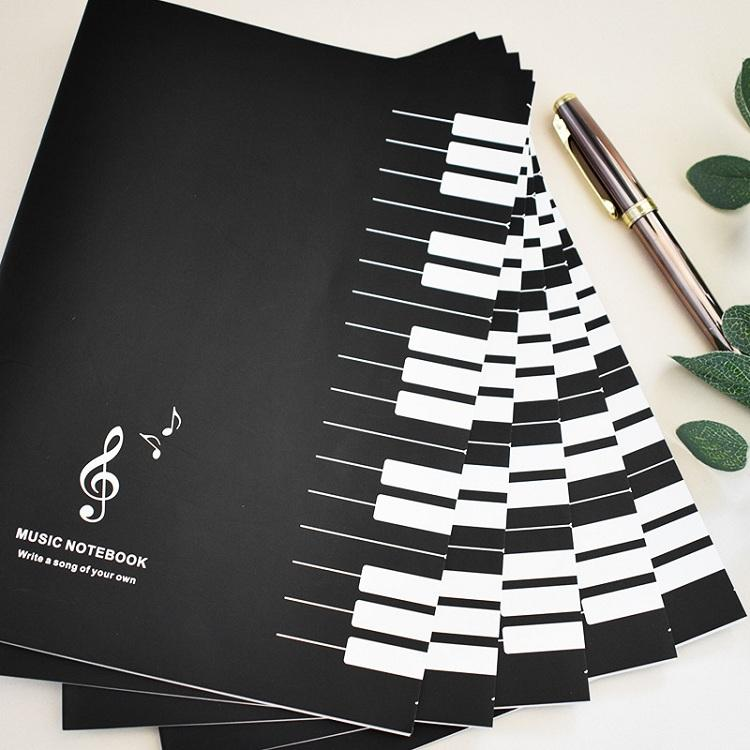 Factory sale paper diary music notebook