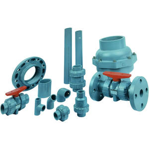CPVC pipe CPVC pipe fittings are used to transport chemical liquids resistant to high temperature corrosion.