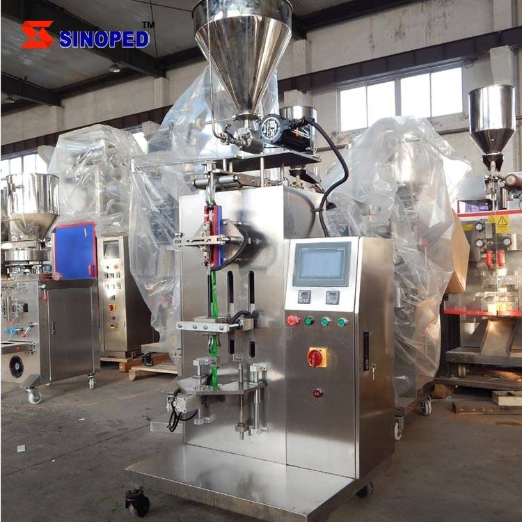 Latest Version DXDY Trilateral or Four-Sided Seal Liquid Automatic Packaging Machine for Liquid Sachet Packing Machine