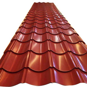 PPGI PPGL Corrugated sheets roofing tiles zinc aluzinc coating roof tiles 0.2mm 180g/m2 RAL k7 DX51D