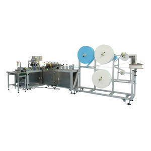 Fully Automatic Machine For 3ply Mask Making Machine Automatic Production Line Latest Surgical Face Mask Machine