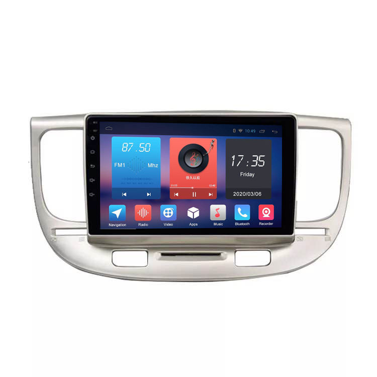 Android 10.0 Für KIA RIO K3 2006 Multimedia Stereo Auto DVD Player Navigation GPS Video Radio IPS Plays tore Bluetooth