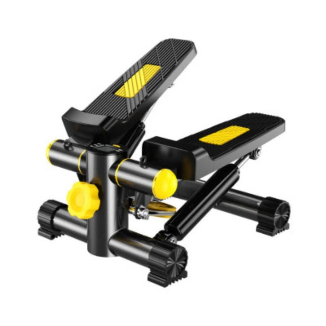 Fitness Equipment Mini Foot Pedal Stepper Exercise machine Multi-function Mini Hydraulic Stepping Machine with resistance bands