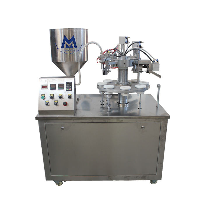 Most Popular Semi Automatic Cream Plastic Soft Tube Filling Sealing Machine/ Cosmetic Tube equipment
