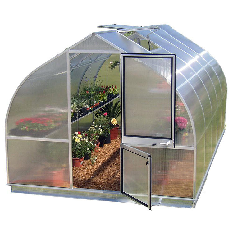 Prefab green house pvc green house for tomatoes