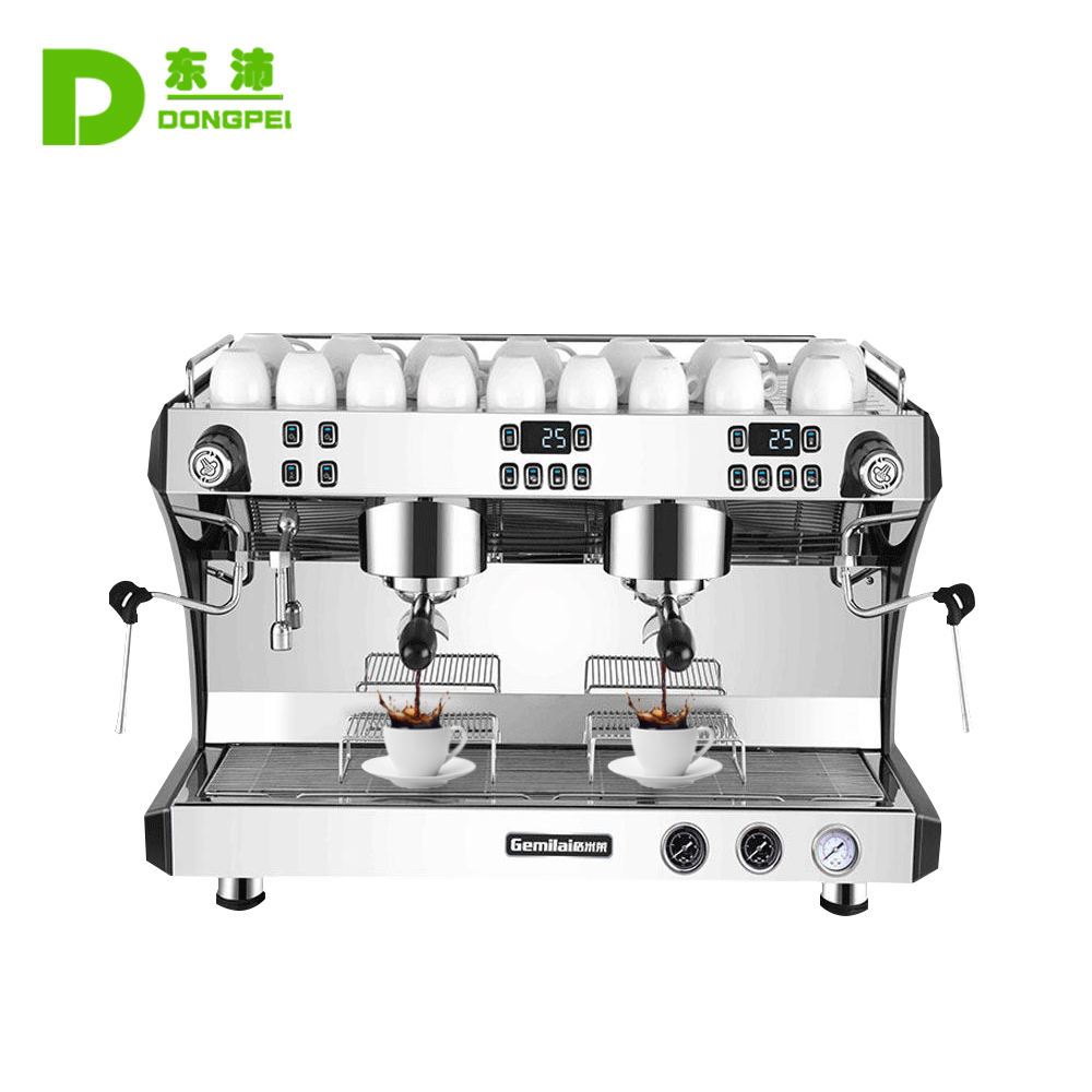 Commercial Espresso Coffee machine /Automatic Italy Cafe Maker Machine 2 Group