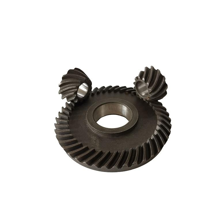 hard tooth mini spiral bevel gears for electric power tool