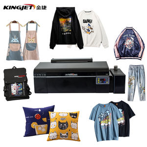DIY digital heat press transfer t shirt printing machine with shaking powder machine