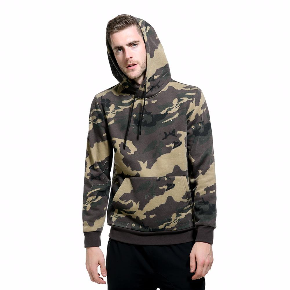 2021 kangaroo pocket hooded sweatshirt custom brushed fleece camo hoody pullover plus size men's camouflage hoodies wholesale
