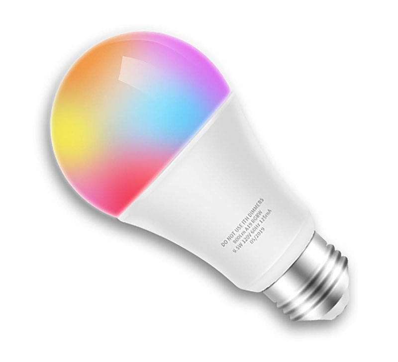 LED Lamp Wifi LED Bulbs 7W APP Voice LED Light Bulb E17 110V 220V Dimmable Smart Light Fit For Alexa and Google Assistant