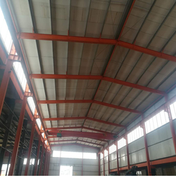 Prefab light low cost steel structure warehouse/prefabricated hangar warehouse