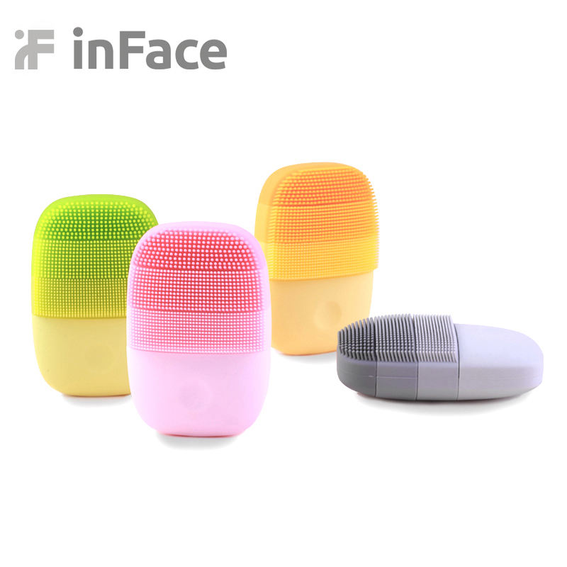 Xiaomi inFace face cleanser Small Cleaning Instrument Deep Clean waterproof Sonic Beauty Facial mini Cleaning Face Skin Care