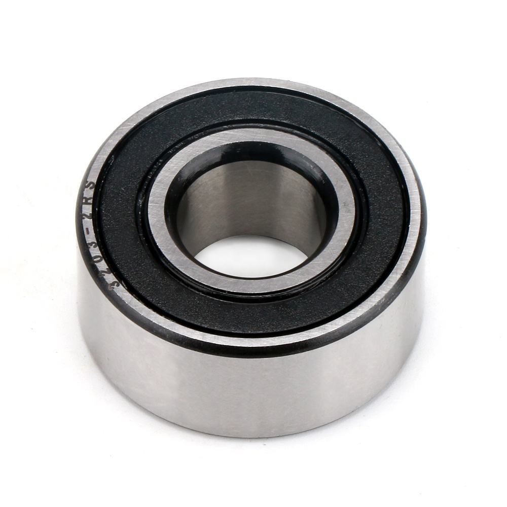 Low noise pump motor angular contact ball bearings 3204 size 20*47*21mm