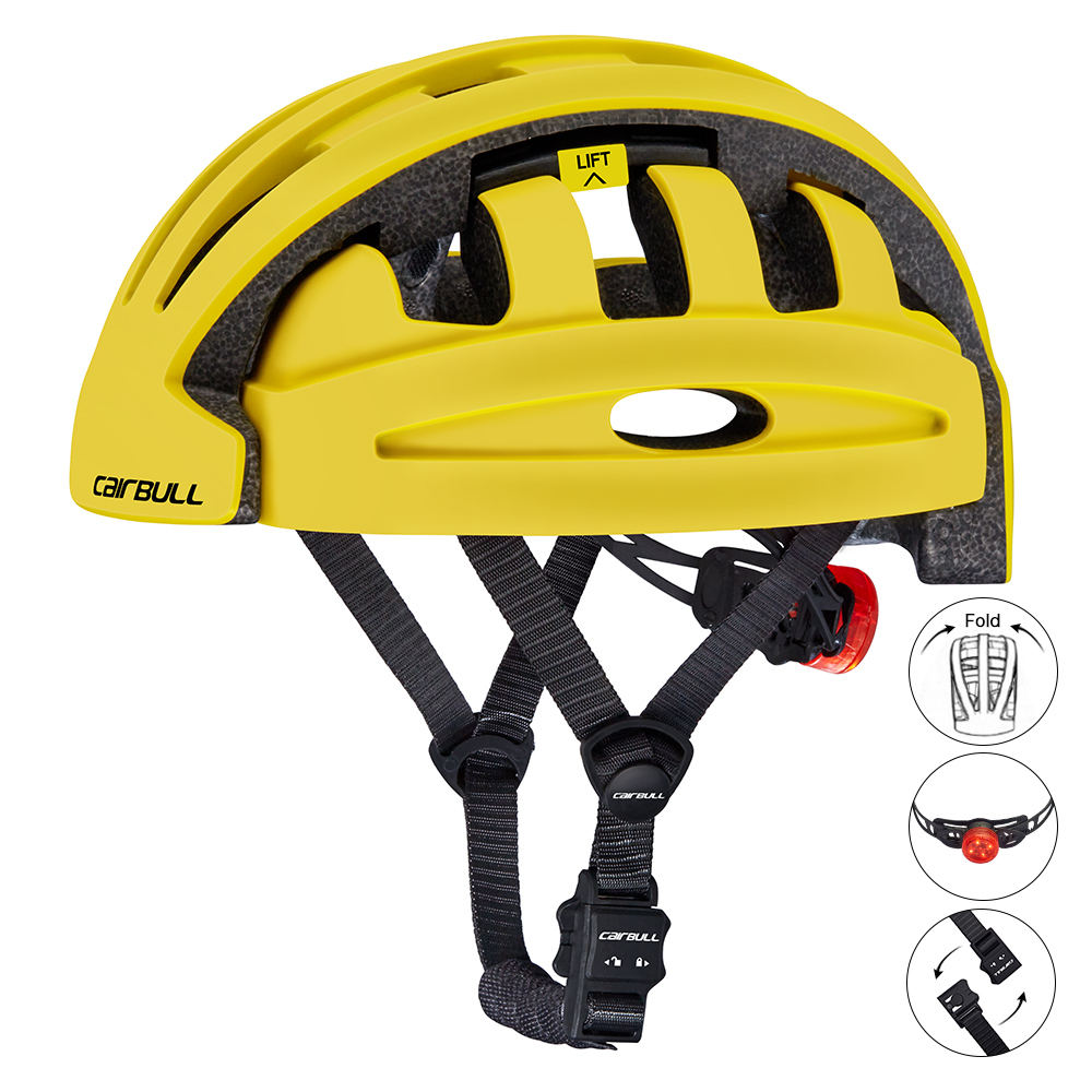 CAIRBULL FIND Sharing Bike Scooter Foldable Helmet For Rental Bike Public City Bike Use Certified to CE and CPSC