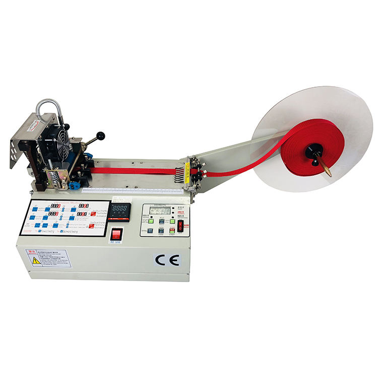 Hot Cutter Cutting Nylon Tapes Magic Electrical Automatic Manual Adhesive Tape Cutting Machine