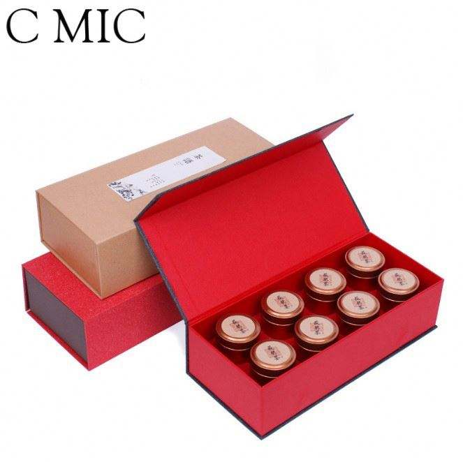 C MIC Custom Logo Sweet Box 4X4 Bee Honey Lure Mini Packaging Boxes For Box Packaging