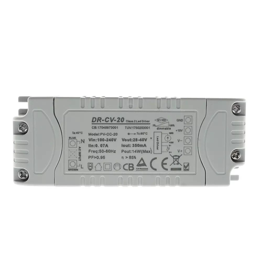 36W 24V Dc 4.2A Constante Spanning 0-10V <span class=keywords><strong>Dimbare</strong></span> Led Driver 1-10V Dimmen voeding Voor Led Panel Light