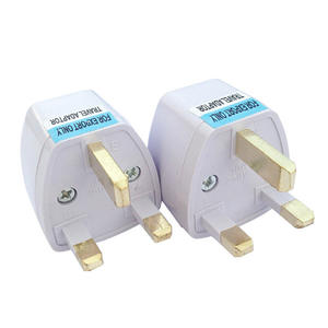 QWT charger adapter converter travel adaptors UK 3 pin ac power plug