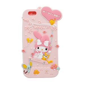 custom 3D Cheap price official accessories soft cute cartoon mobile phone silicone case for apple cover