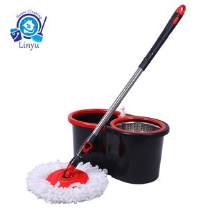 Best selling 360 spin magic mop bucket cleaning commercial mop set