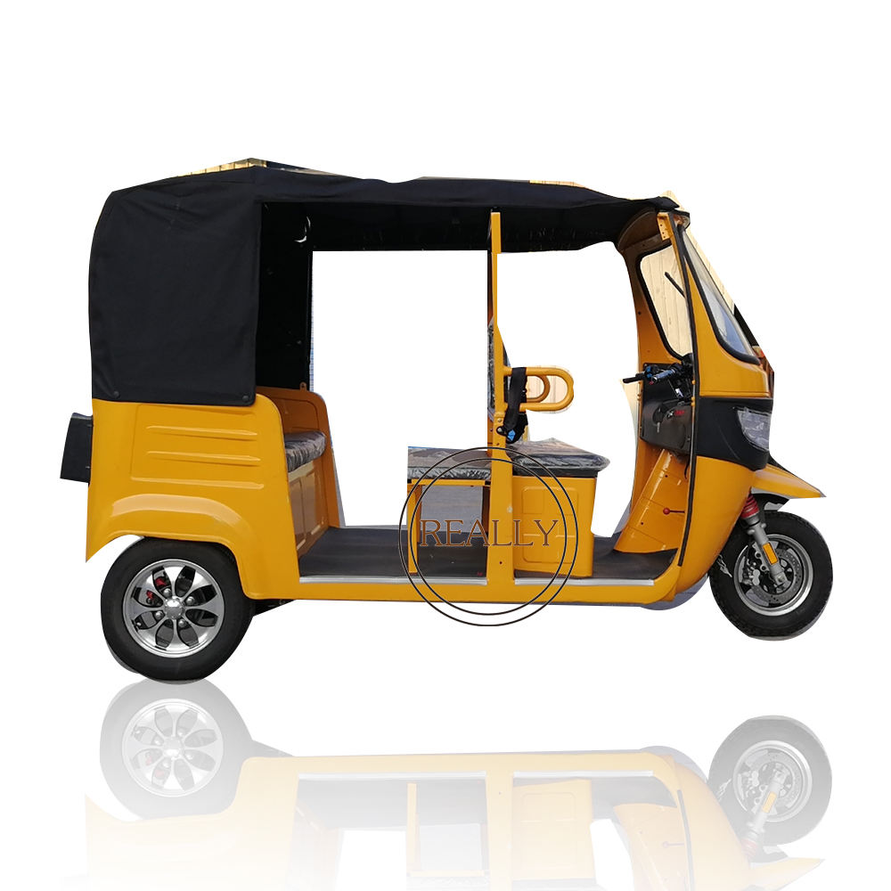 Customized Electric Rickshaw Tricycle Car 3 Wheels Passenger Cart For Adult and children Cargo