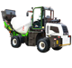 used self loading portable concrete mixer machine truck for sale