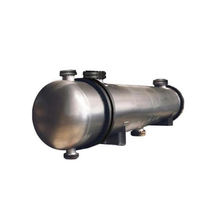 Cool shell and tube water cooled condenser chemical heat exchanger