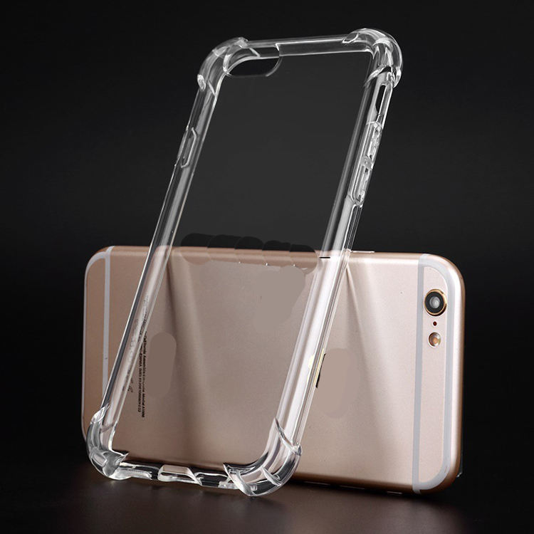 Apply to OEM 3d color printing 1mm airbag shockproof transparent clear TPU phone cover for iphone 4 4g 4s free sample case