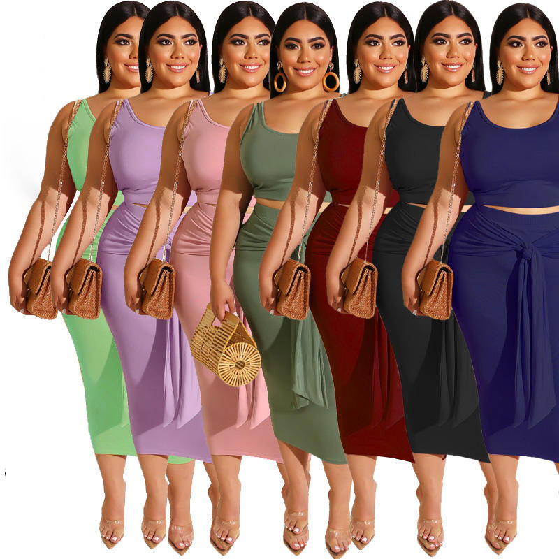 Dropship New Stylish Sexy Tight Colorful Fat Tie Dye Plus Size Ladies Long Dress