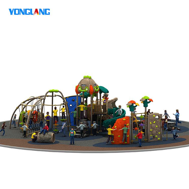 تصاميم الاطفال البلاستيك روضة صغيرة في الهواء الطلق ملعب متنزه
