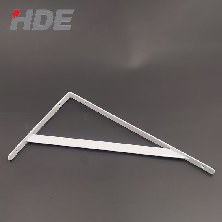 Profession manufacturing 250*300*30mm stainless steel shelf bracket 90 degree corner shelf bracket