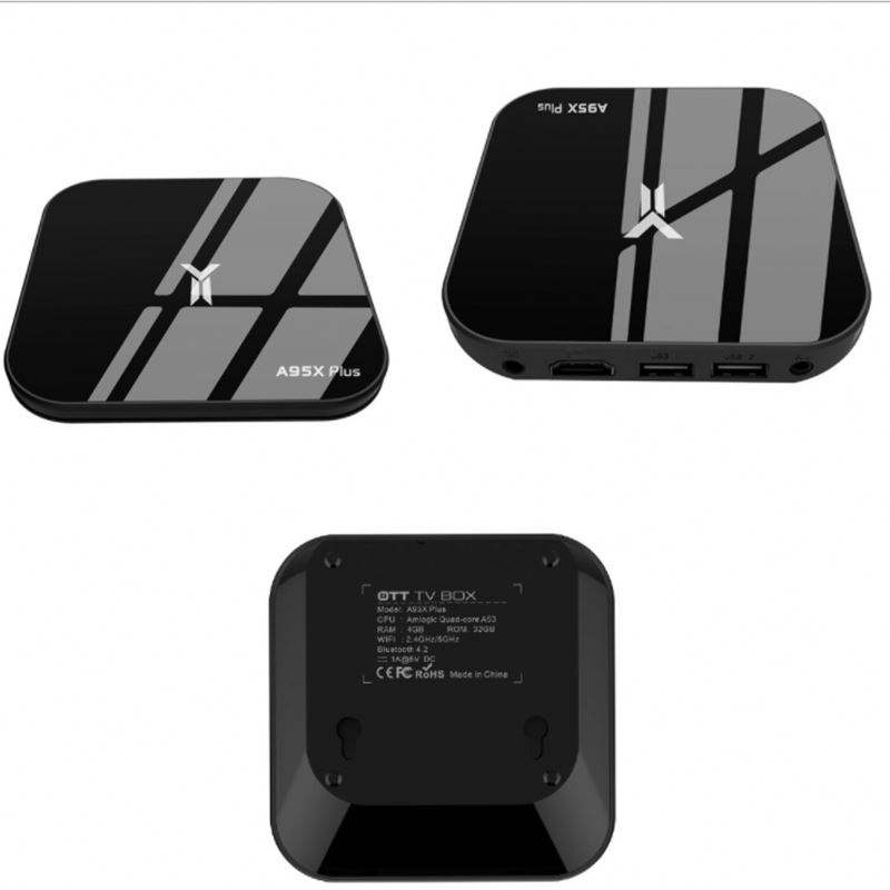 Newest Product IPTV Box A95X Plus S905Y2 Satellite Receiver 8.1 OS WIFI Internet STB Android TV Box