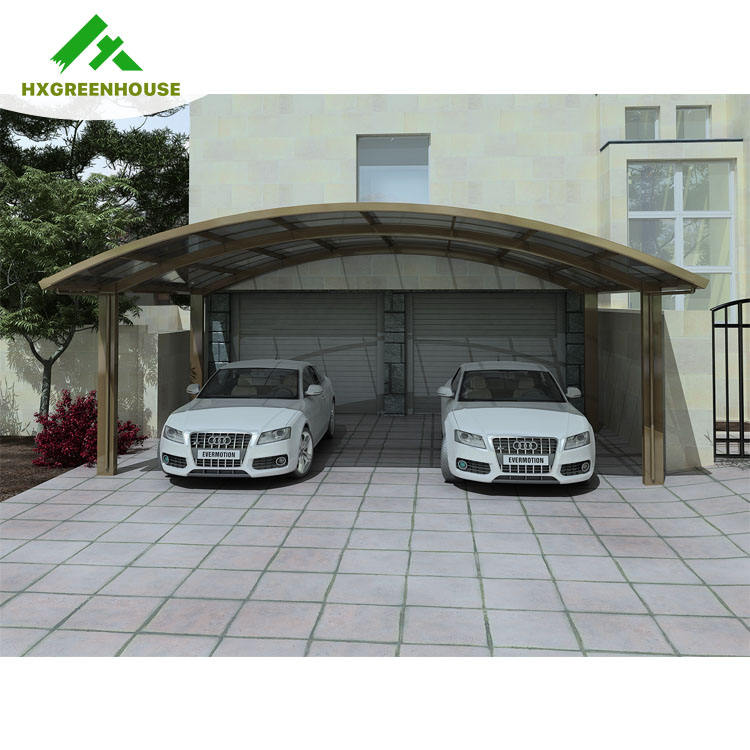 New Outdoor DIY Aluminum Canopy Tent for 2 Car Parking