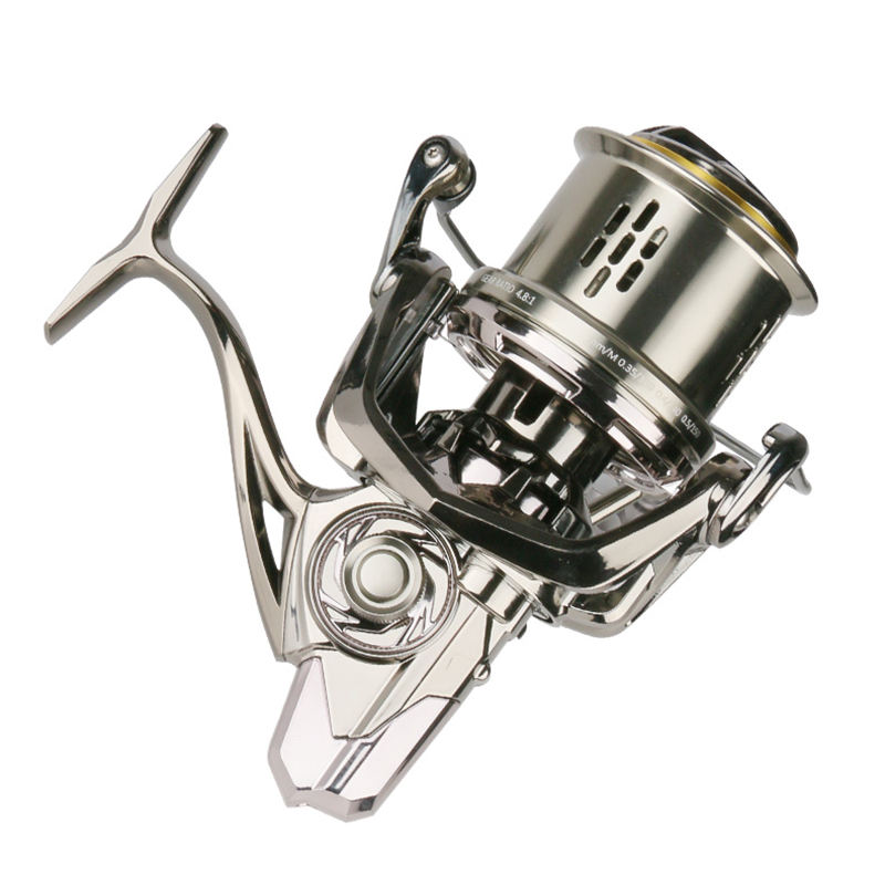 Wholesale Long Cast Fishing Reel Stainless Steel Left And Right Hand Swap Fishingreel Baitcaster carretilha pesca Fishing Tackle