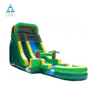 Sanjing China Wholesale Custom Big Clearance Cheap Commercial Cartoon Waterslide Inflatable Water Slides For Sale For Adults