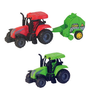 New Release Jumbo Farm House Toys Set Sound Plastic Farm Animal Toy Tractors Friction Farm Truck Play Set for Kids Education