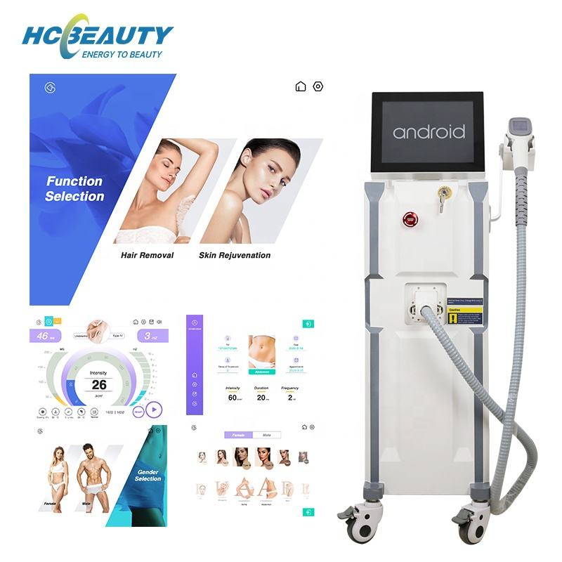 New best price professional permanent beauty salon 755 808 1064 nm hair removal laser / 808 diode laser hair removal machine